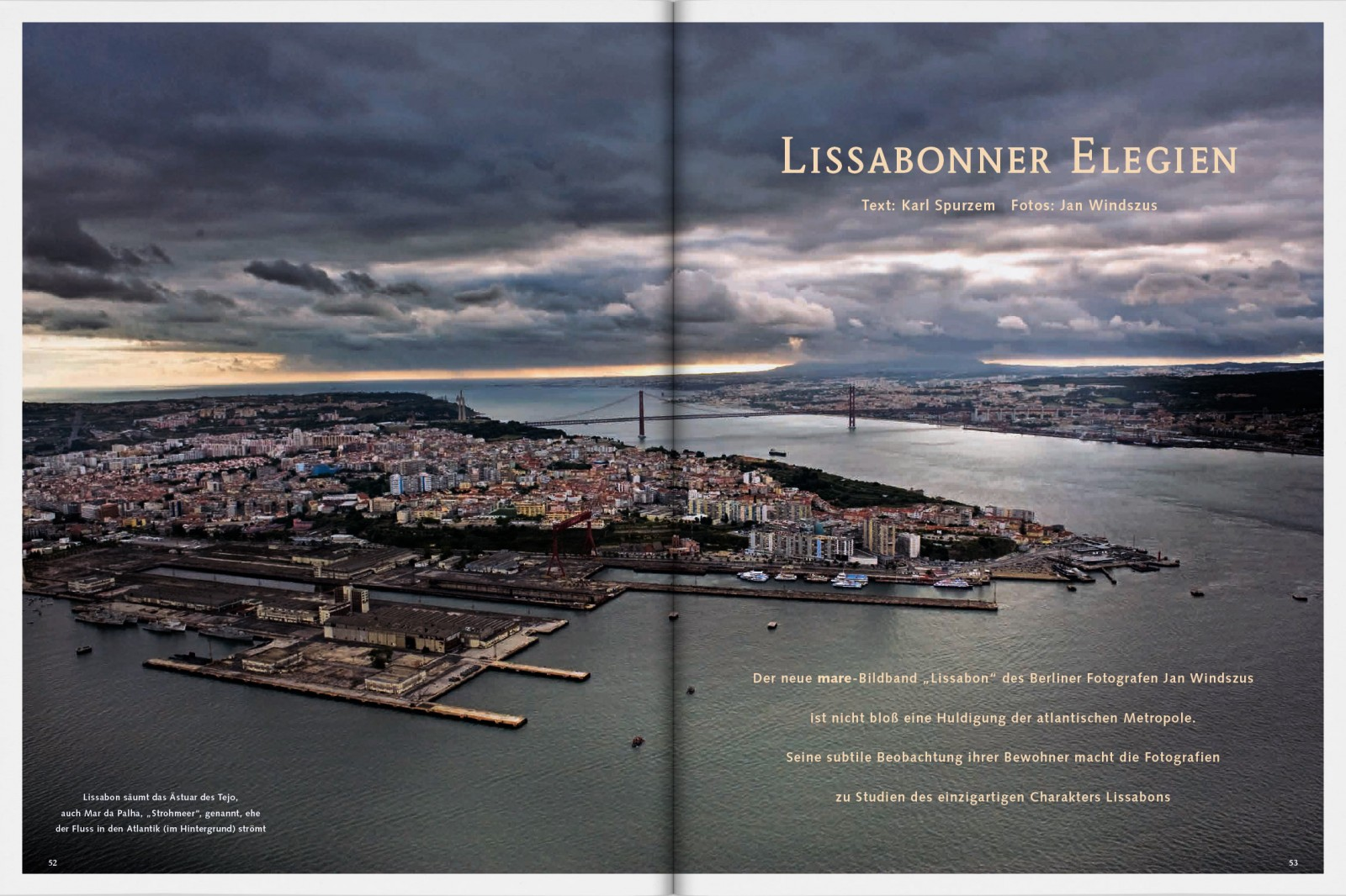 Lisbon - Press 7 by Jan Windszus
